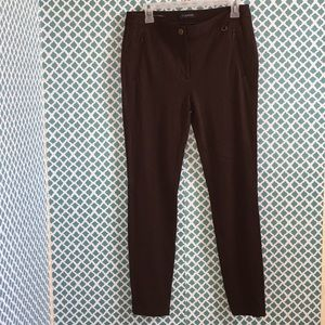 Talbots🌹Skinny Ankle Brown Pants